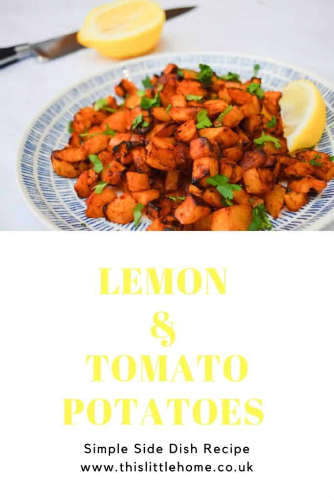lemon and tomato potatoes recipe