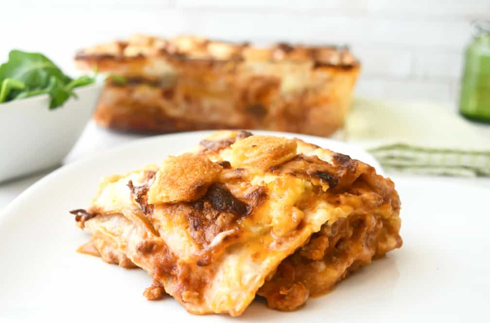 Turkey lasagne recipe