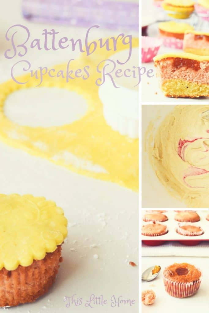 battenburg cupcakes recipe