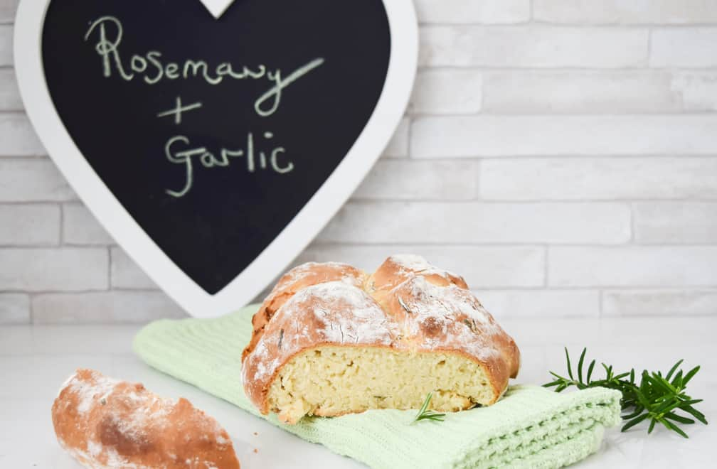 Rosemary and Garlic Soda Bread