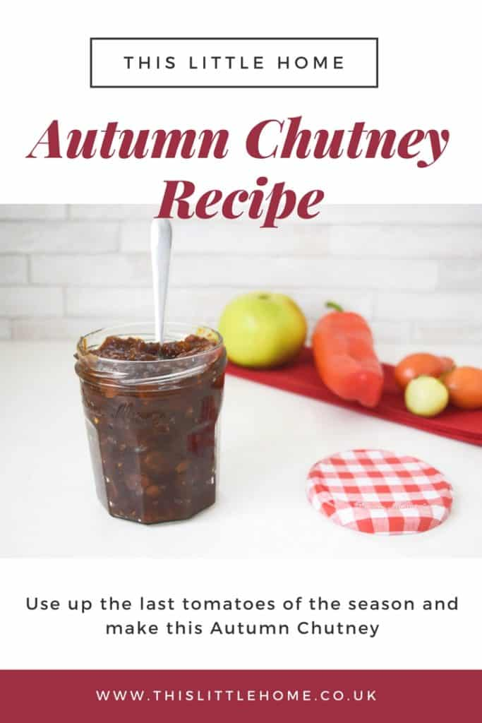 Autumn Chutney Recipe