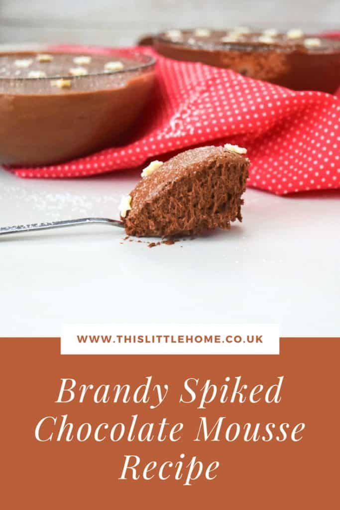 brandy spiked chocolate mousse recipe