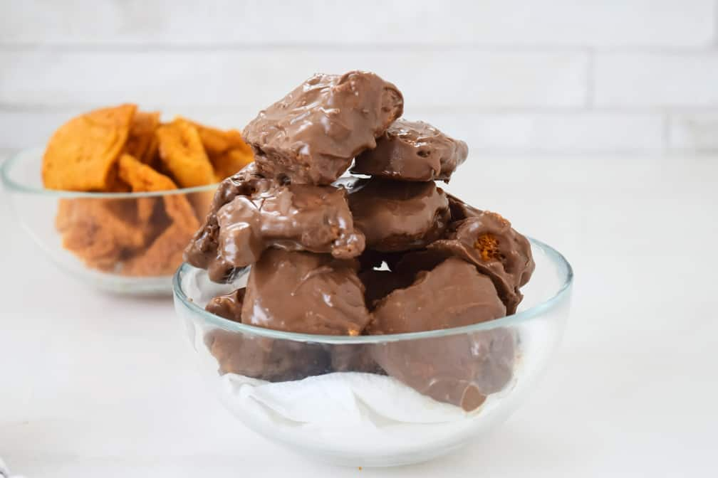 chocolate coated cinder toffee recipe