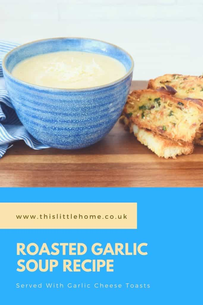 roasted garlic soup recipe