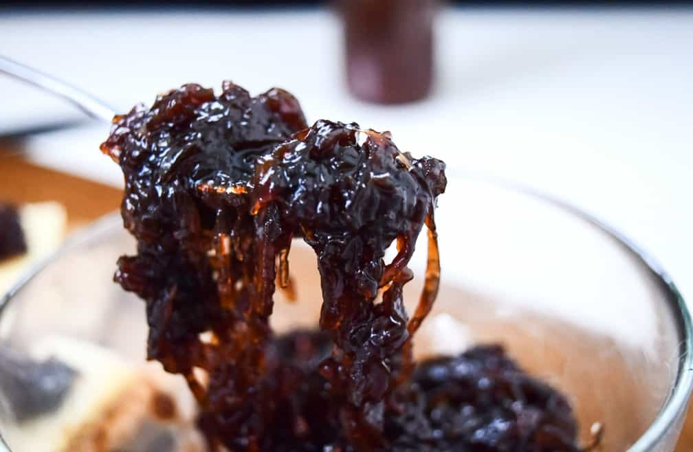 caramelised onion chutney recipe