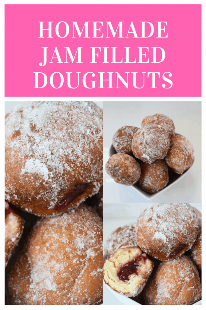 homemade jam filled doughnuts recipe