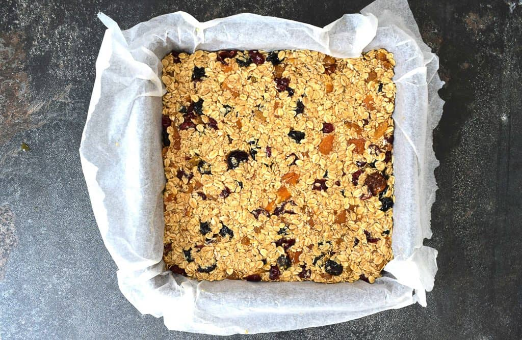 Fruity Jewelled Flapjacks Recipe