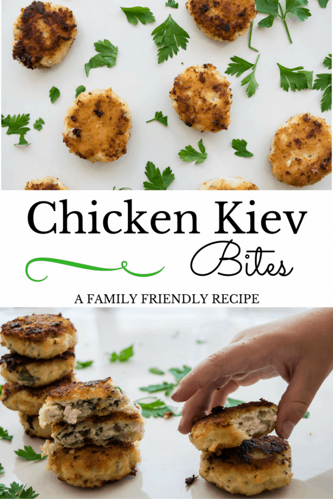 Chicken Kiev Bites Family Friendly Recipe