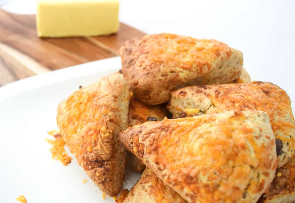 two cheese scones recipe