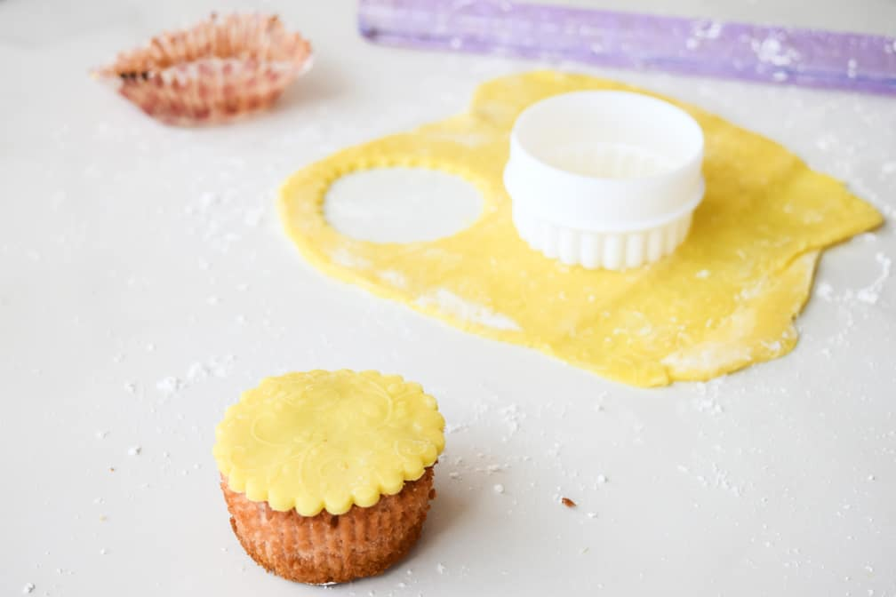 example of the marzipan topping