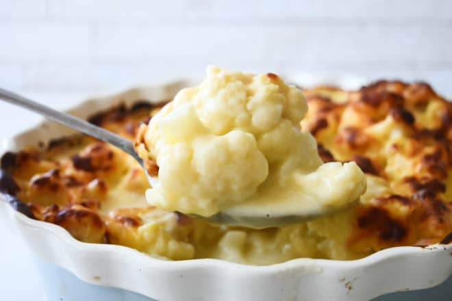 Cauliflower Cheese Recipe