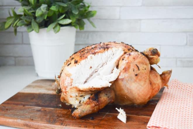 lemon flavoured roast chicken recipe