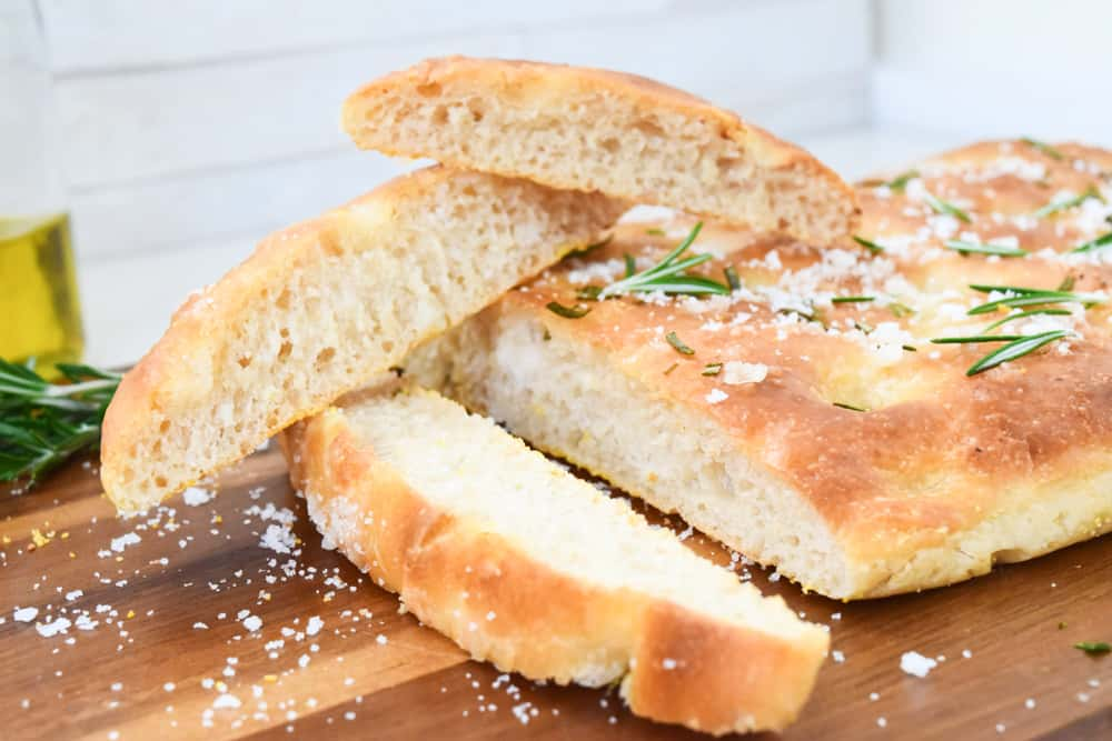 roasted garlic and rosemary focaccia bread recipe