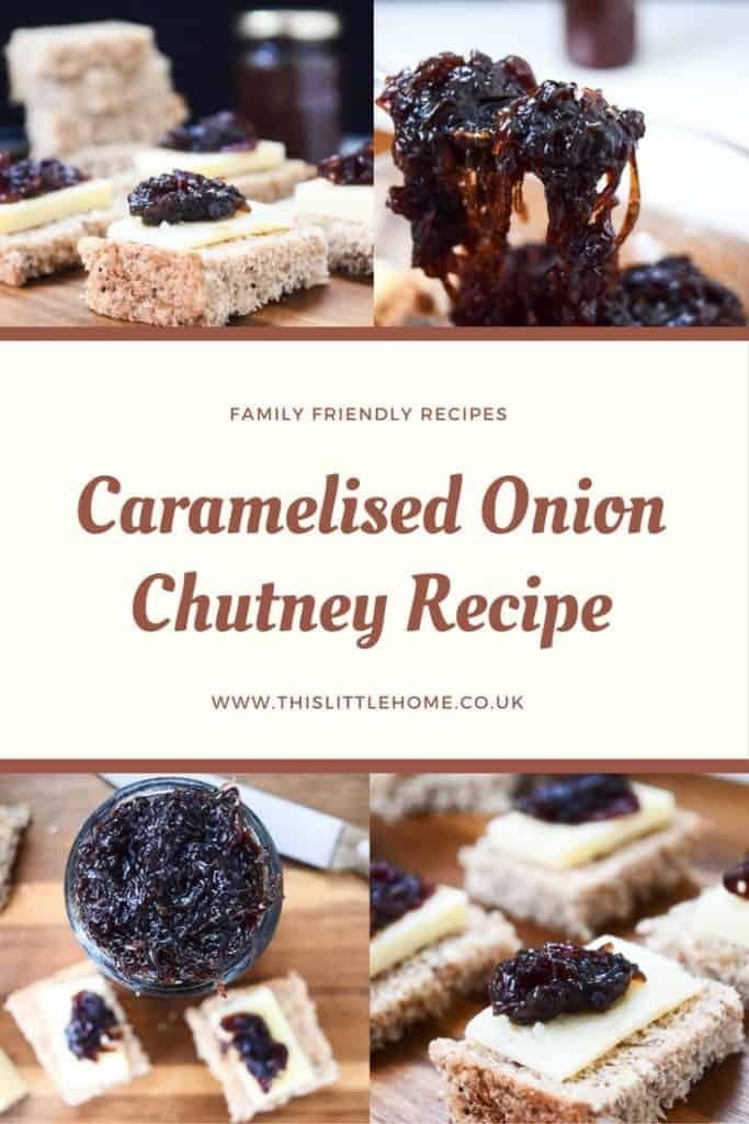 caramelised onion chutney recipe