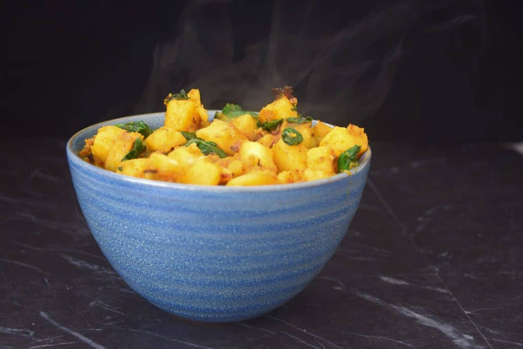 Sag Aloo Indian Potato Recipe
