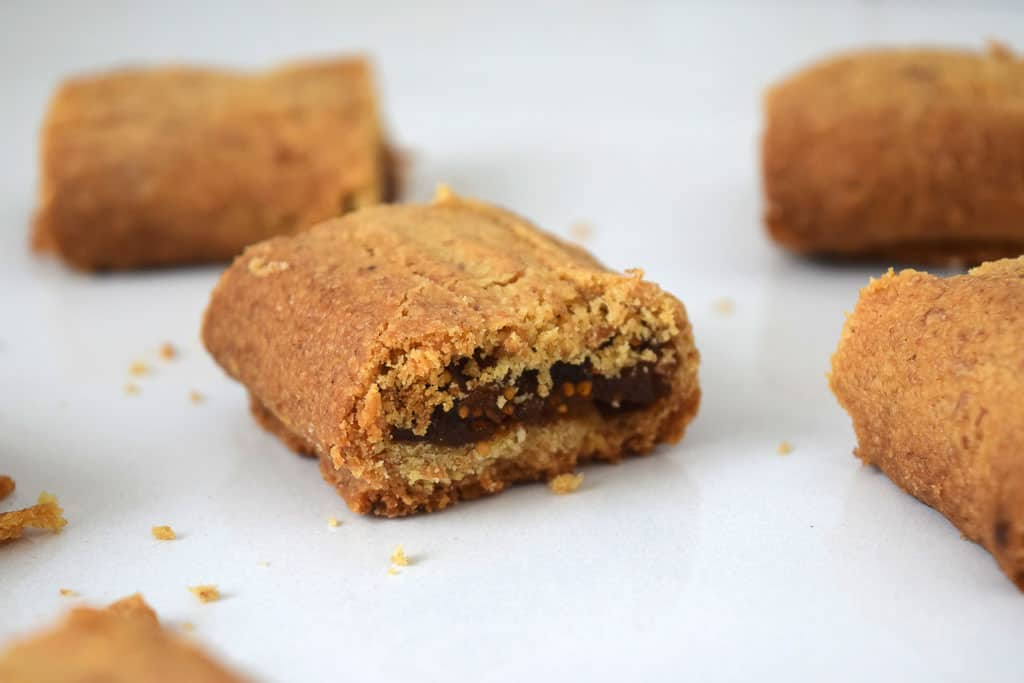 Fig Roll close up