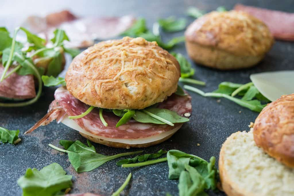 Filled Deli Pesto Scones Recipe